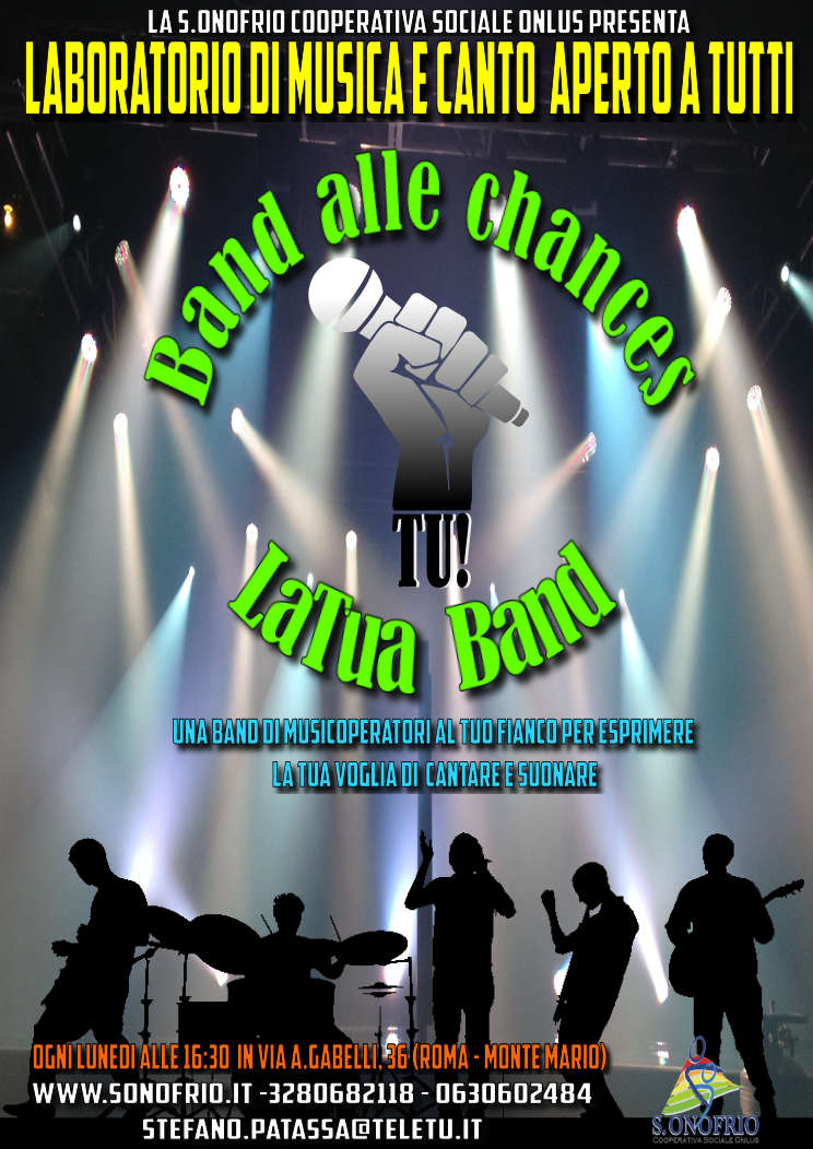 Band alle Chance – Laboratorio di musica e canto